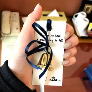 Een van de cadeautjes: een Return to Sender gift