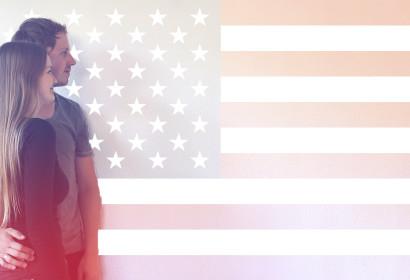We are going to the USA, Wij gaan op vakantie naar Amerika
