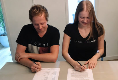 Signing for our very first house 2018