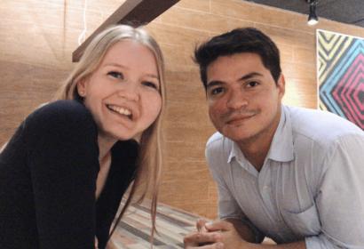 Wilma and Mateus - unexpected meeting in Sau Paulo - facial infiltrating lipomatosis