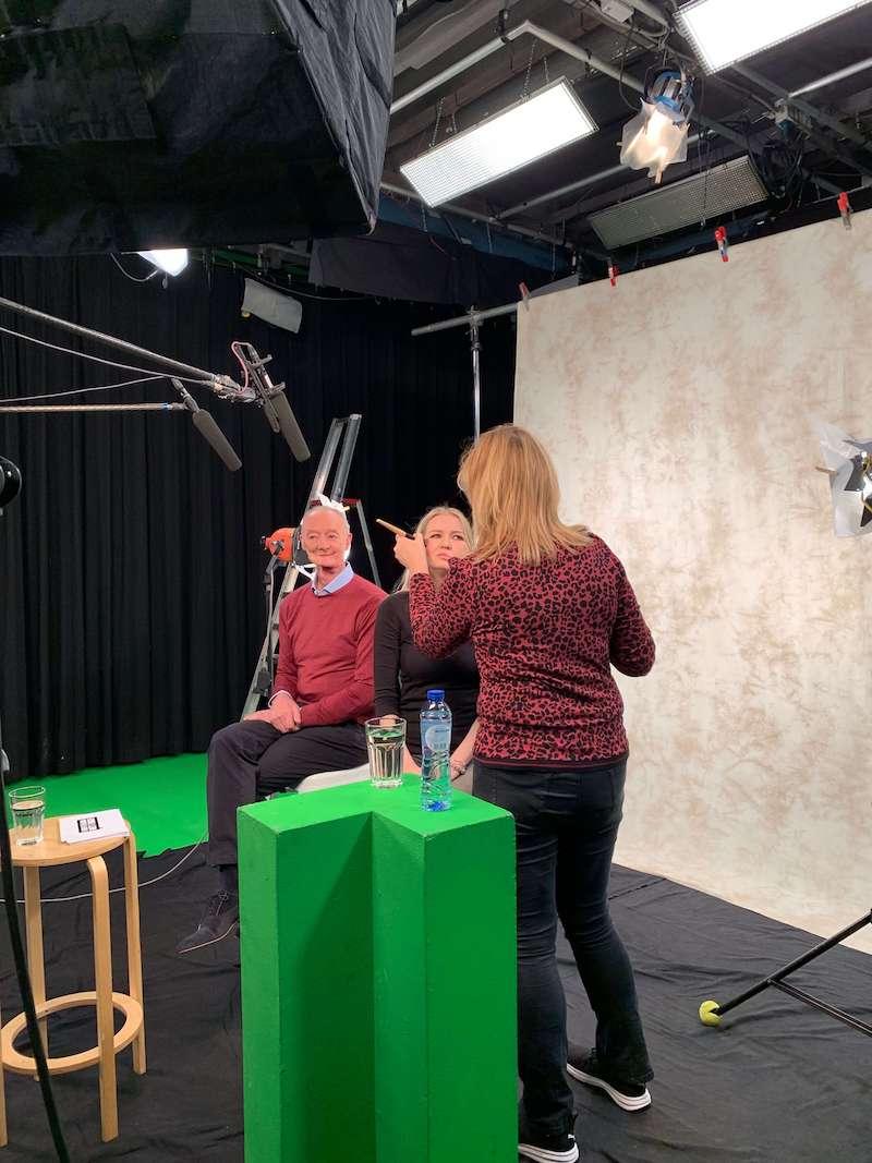 Behind the scenes opnames Ik Durf Het Bijna Niet Te Vragen - aflevering gezichtsaandoeningen - BNN Concept Street NPO3