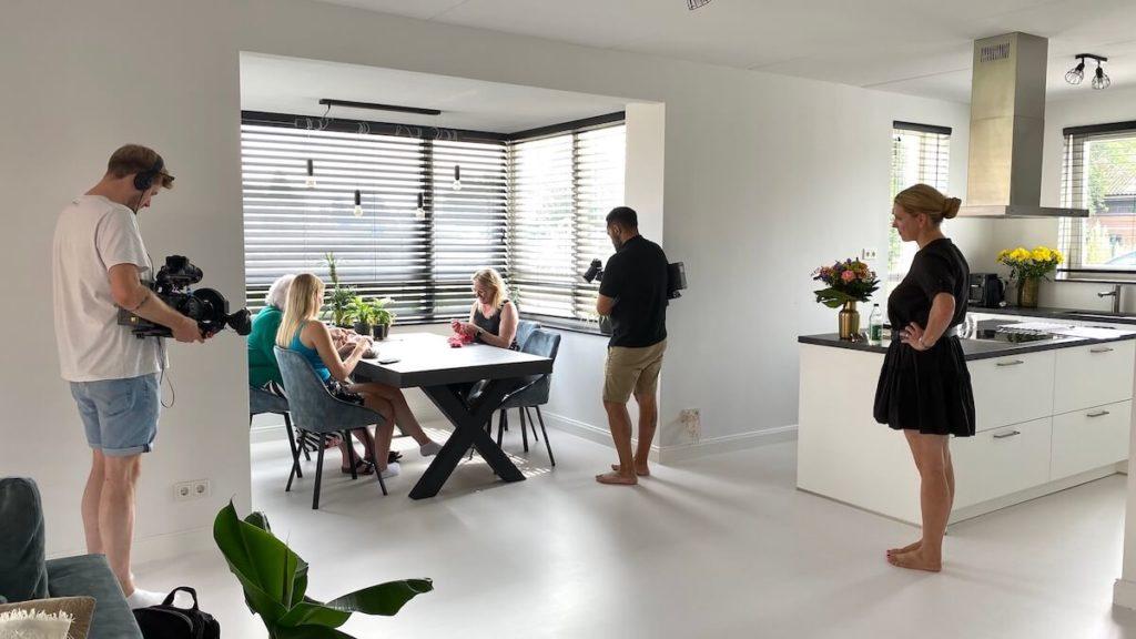 Op tv bij Explosiv RTL DE_recording interview at home